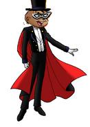 Alvin tuxedo mask