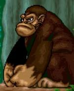 Gorilla in the smurfs travel the world