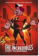 Incredibles dinosaurkingrockz animal style