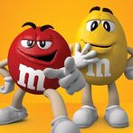 M&M's Red and Yellow