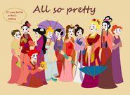 Princesses going to the matchmaker by ohanamaila-d6o8yjp
