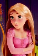 Rapunzel feels worried