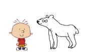 Stanley Griff meets Polar Bear
