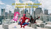 All Spiders Go To Heaven (Dragon Rockz Style) Poster