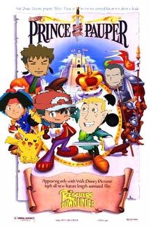 Ash pokemon trainer and ron the spy in the prince and the-0