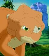 Cera in The Land Before Time 10 The Great Longneck Migration