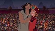 Mulan & Shang at marriage (Mulan 2)