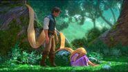 Rapunzel sobbing