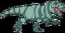 Sabra the Carcharodontosaurus