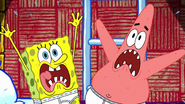 Spongebob and patrick are screaming again