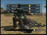 Zebras in Cableas Big Game Hunter 2012