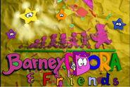 Barney, Dora Friends Season 4 titlecard