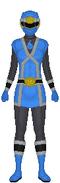 Blue Chi Force Ranger