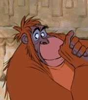 King Louie the Orangutan