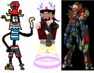Mr. Devious Diesel as Admiral Razorbeard, Ben Ravencroft as Specter, and Dr. Eggman as Erol.