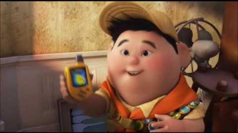 """Russell and the Giant Peach part 3 - Russell Makes a Friend """"My Name is Russell"""""""