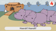 The Great Hippopotamus Got Stuck through the Door