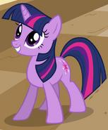 Twilight Sparkle smiles