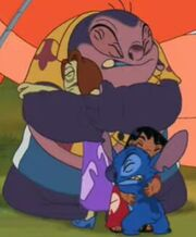 Lilo, Stitch, Jumba and Pleakley Gets Scared