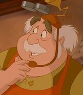 Maurice in Beauty and the Beast