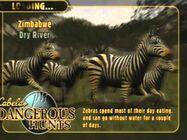 Zebras in Cabela's Dangerous Hunts