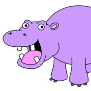 CM7No5F 400x400 Hippopotamus