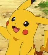 Pikachu in Pokemon The Movie Black White - Victini and Reshiram Zekrom