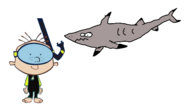 Stanley Griff meets Black-Tip Reef Shark