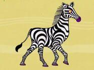 Zebra in Tinga Tinga Tales
