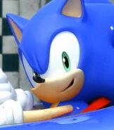 Sonic the Hedgehog in Sonic & Sega All-Stars Racing