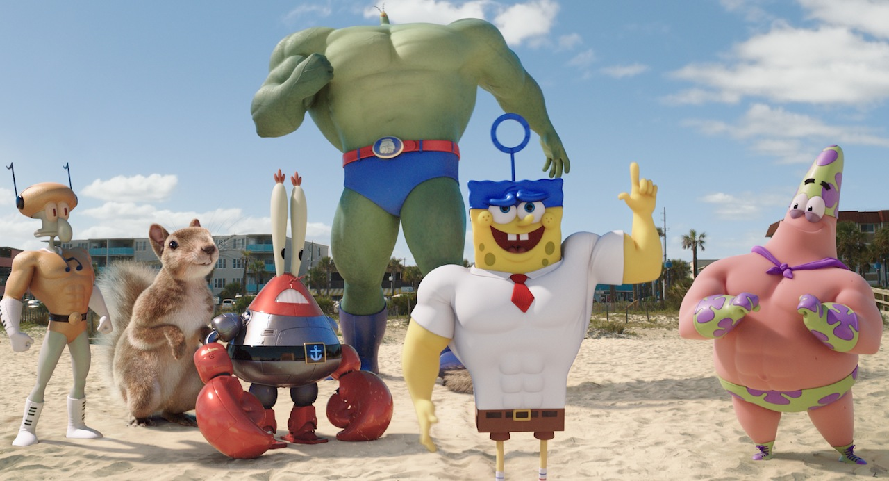 image spongebob and friends are superheroes jpg the parody