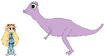 Star meets Pachycephalosaurus