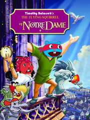 The Flying Squirrel of Notre Dame poster