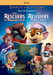 The Rescuers and The Rescuers Down Under (Davidchannel's Version) (1977-1990) double feature poster