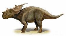 Achelousaurus-horneri-a-prehistoric-sergey-krasovskiy