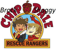 Brock n shaggy rescue rangers