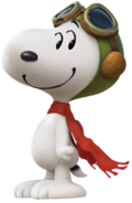 Flying ace peanuts movie 2015 by bradsnoopy97-d9g38hq