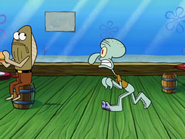 Squidward gone crazy