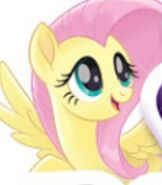 Fluttershy in My Little Pony The Movie (2017)