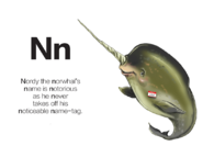 Nordy the Narwhal