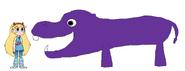 Star meets Pygmy Hippopotamus