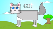 English Tree TV Cat