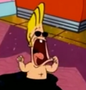 Johnny Bravo in Look Who's Drooling