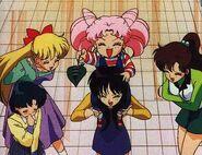 Raye. Mina, Amy, Lita, and Rini