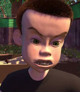 Sid in Toy Story