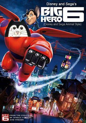 Big Hero 6 (Disney and Sega Animal Style) Poster