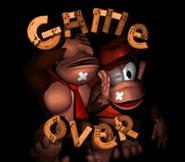 DKC Game Over