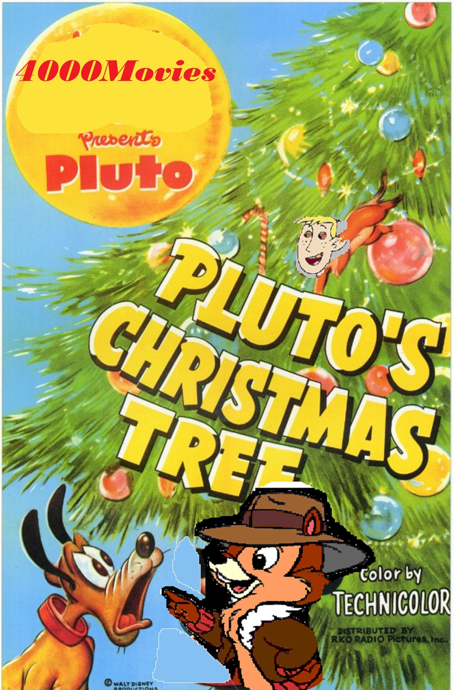 Plutos Christmas Tree.Pluto S Christmas Tree 4000movies Style The Parody Wiki