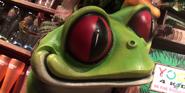 Rainforest Café Frog