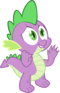 Spike the dragon by jeurobrony-d5l6j3u